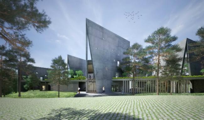Новый кампус корпорации Viettel (Ханой, Вьетнам).  Vo Trong Nghia Architects. Изображение предоставлено WAF