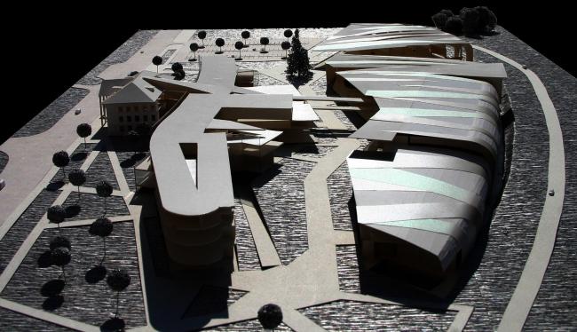 Школа олимпийского резерва. Фотография макета