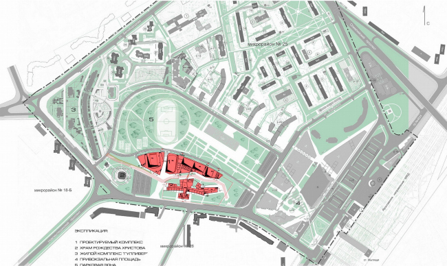 Школа олимпийского резерва, г. Мытищи © Архитектурное бюро Асадова