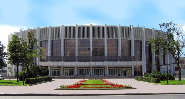 Дворец спорта «Юбилейный». Фото:  Heibert via Wikimedia Commons. Лицензия CC-BY-SA-3.0