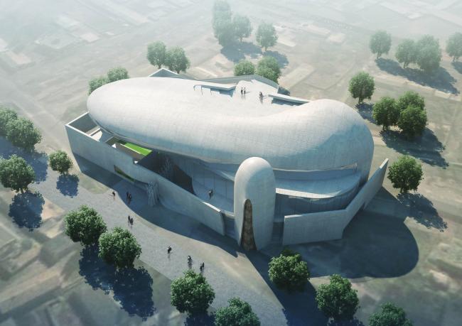 Музей западных областей Дунчжуан ©  Xinjiang Wind Architectural Design & Research Institute