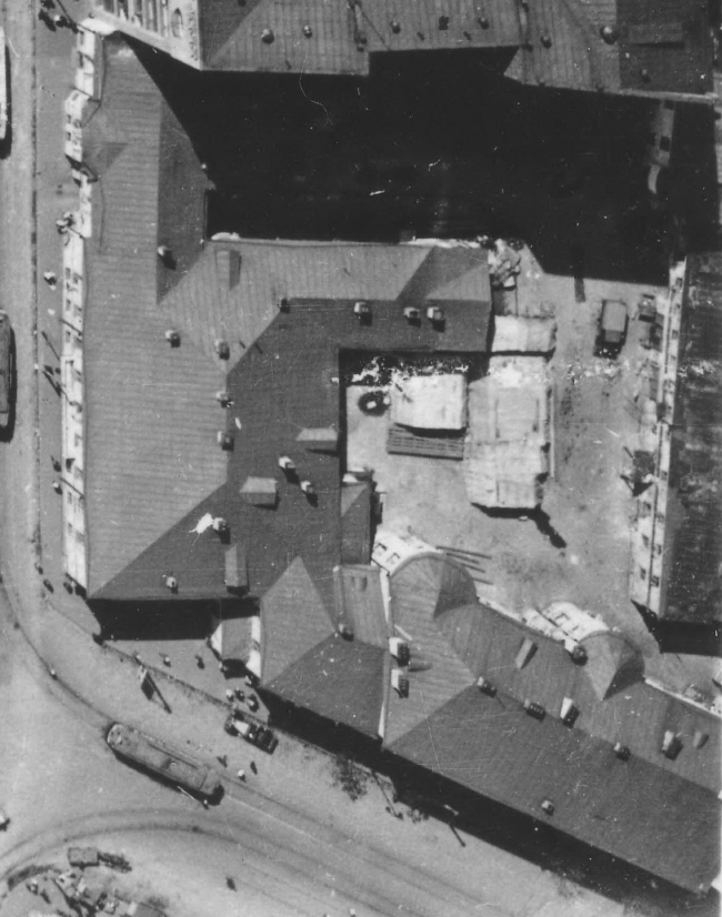 Dolgorukovykh-Bobrinskikh manor house. Top view. Archive materials / courtesy of Aleksey  Ginsburg