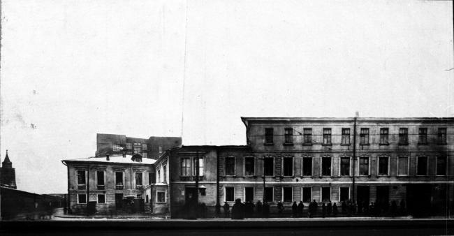 Dolgorukovykh-Bobrinskikh manor house. Archive materials / courtesy of Aleksey  Ginsburg