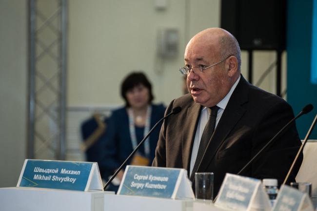 Михаил Швыдкой. Фотография предоставлена IV Петербурским культурным форумом