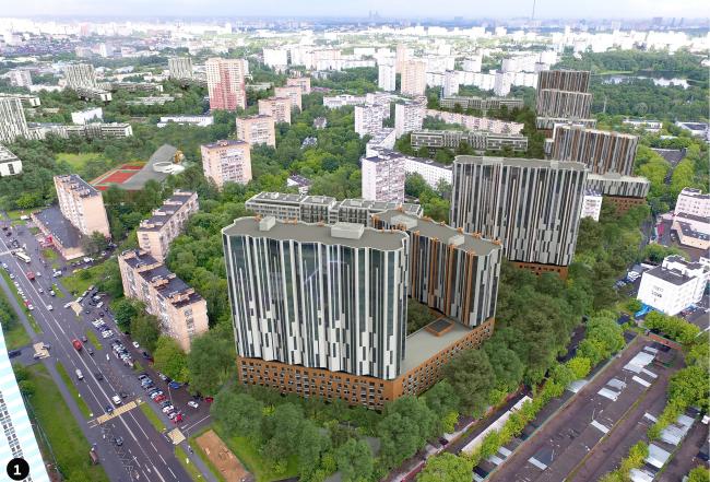 Концепция реновации Головинского района © АБТБ + Яузапроект