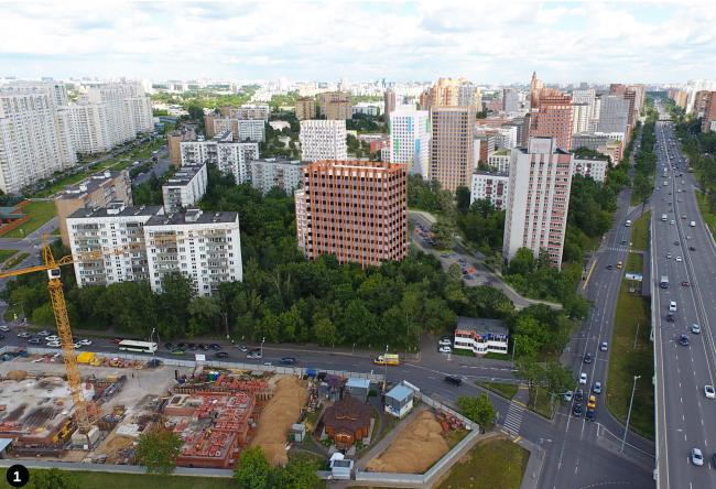 Концепция реновации района Кузьминки © SPEECH