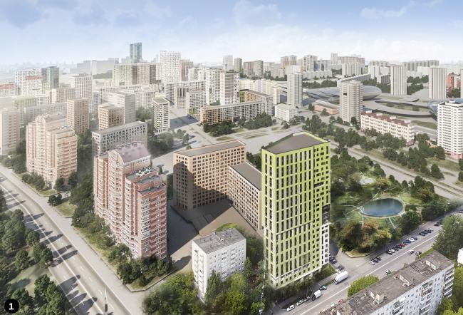 Концепция реновации района Хорошево-Мневники © А-Проект.К