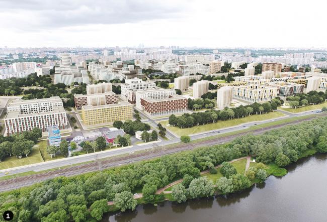 Концепция реновации района Царицыно © ТПО Резерв
