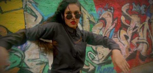 Скриншот из официального видео Suede Gully, компания Puma