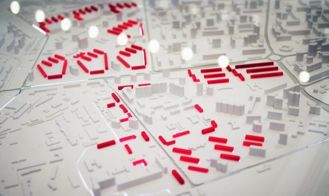 Головинский район, макет, исходные данные. Фотография © Юлия Тарабарина, Архи.ру
