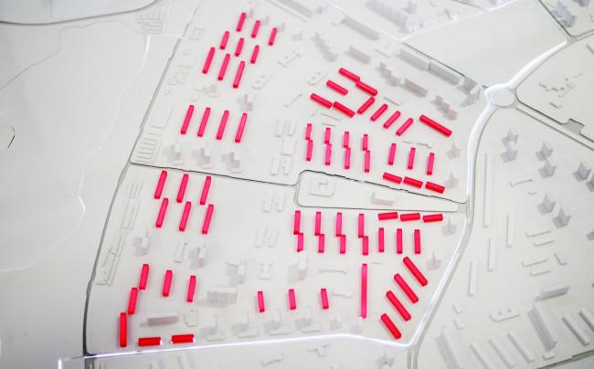 Район Царицыно, макет, исходные данные. Фотография © Юлия Тарабарина, Архи.ру