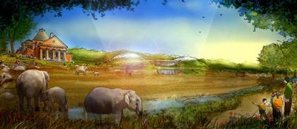 «Дом слонов» в Копенгагенском зоопарке. Проект