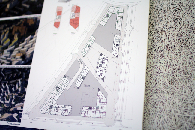Концепция реновации района Кузьминки © Zaha Hadid Architects
