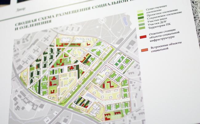 Концепция реновации района проспекта Вернадского © АБ Остоженка