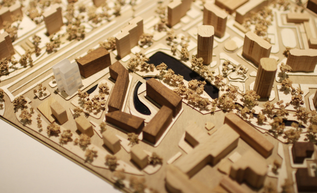 Концепция реновации района проспекта Вернадского © Мастерс план + Bofill