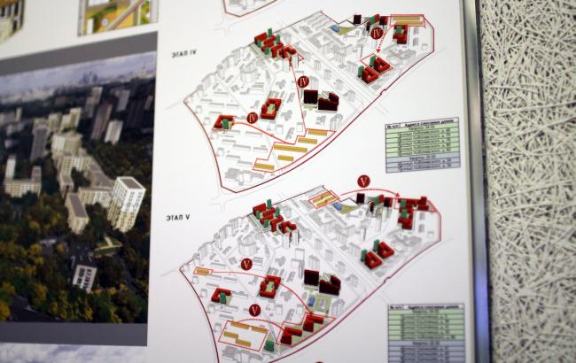 Концепция реновации района проспекта Вернадского © Моспроект + Гинзбург Архитектс