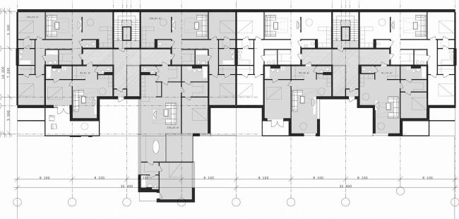 План «длинного» дома – фрагмент