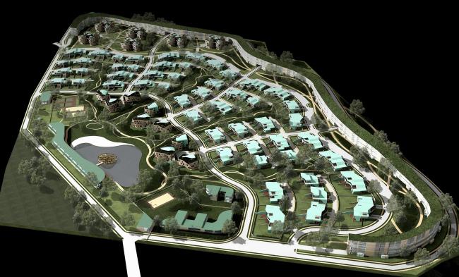 Поселок «Жемчужина Ильинки» © Архитектурное бюро Асадова