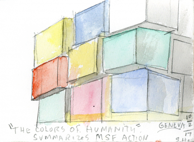 Операционный центр Colors of Humanity, Женева © Steven Holl Architects