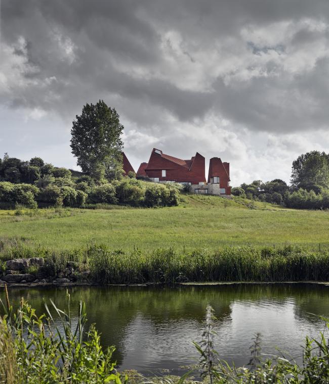 Дом Caring Wood, Кент. James Macdonald Wright + Niall Maxwell. Фото © James Morris