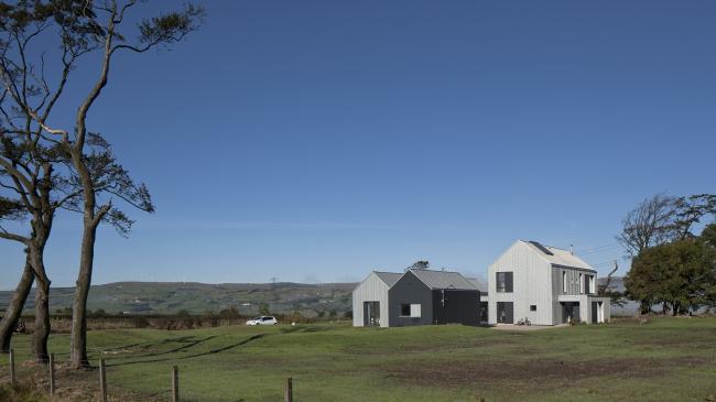 Дом Newhouse of Auchengee, Эршир. Ann Nisbet Studio. Фото © David Barbour