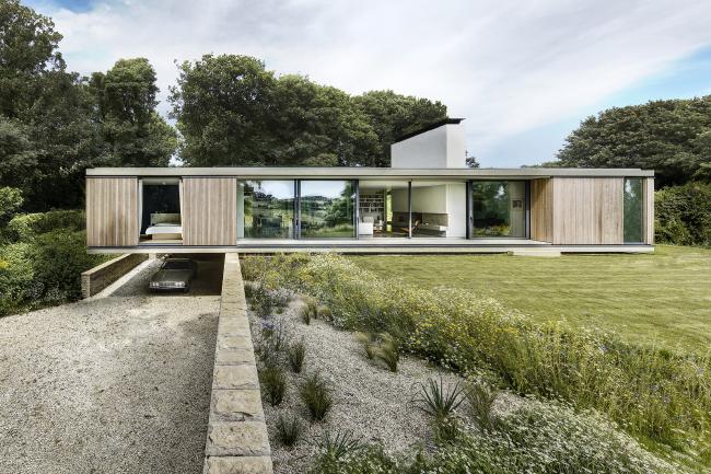 Дом The Quest, Дорсет. Strom Architects. Фото © Martin Gardner