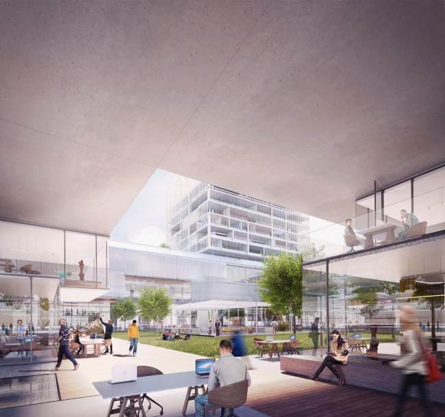 Мастер-план по преобразованию бывшего участка Всемирной выставки 2015 в Милане © Carlo Ratti Associati