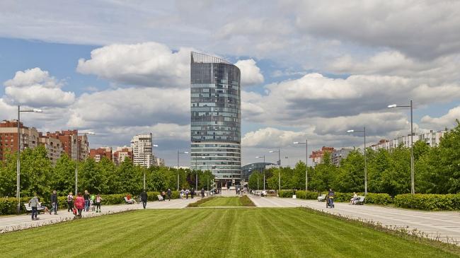 Многофункциональный комплекс «Атлантик-Сити». Фото: A.Savin  via Wikimedia Commons. Лицензия CC BY-SA 3.0
