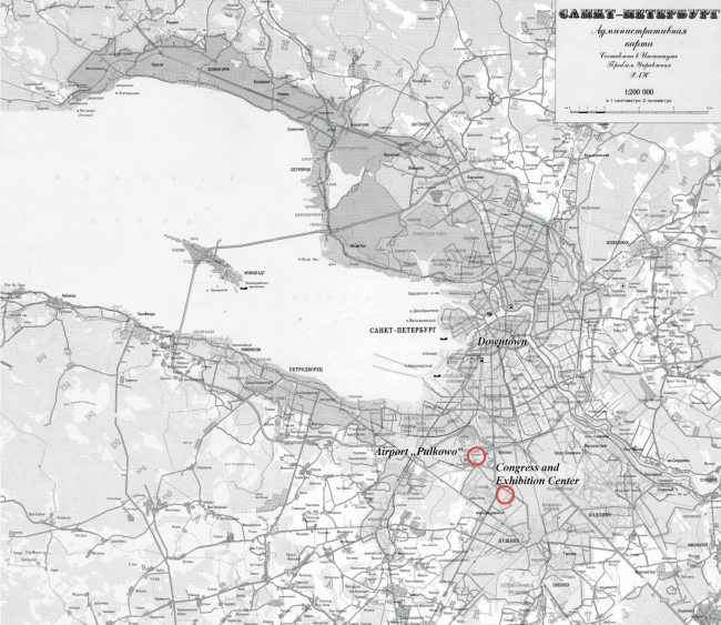 Location plan © SPEECH, Evgeny Gerasimov and Partners
