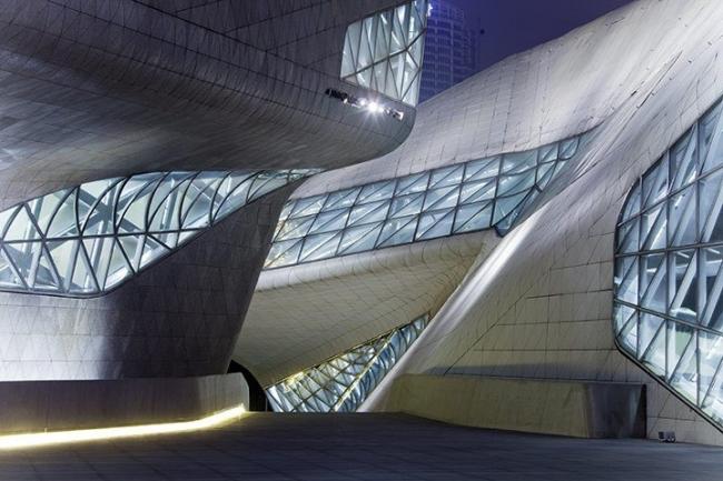 Оперный театр в Гуанчжоу. Zaha Hadid architects. © Dan Chung