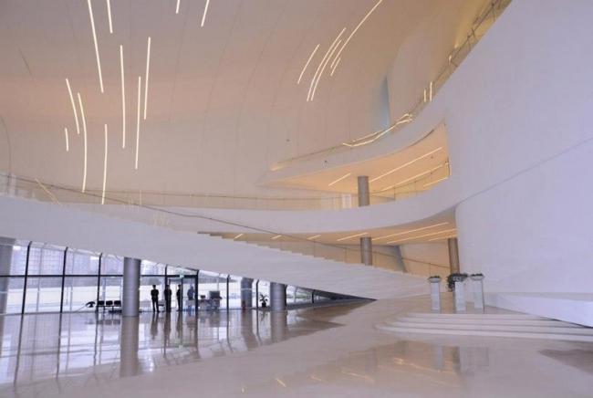 Фрагмент Культурного центра Гейдара Алиева. Баку. Азербайджан. Zaha Hadid architects. Изображение предоставлено Культурным центром Гейдара Алиева
