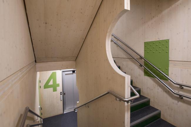 Студенческое общежитие Moholt 50|50 © Studentsamskipnaden og MDH arkitekter