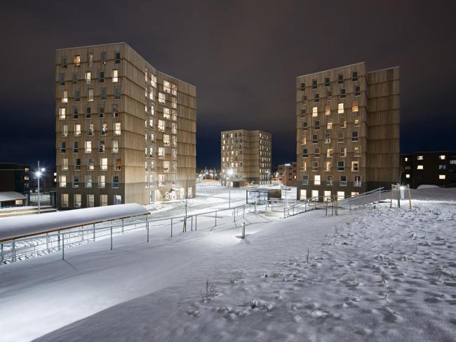 Студенческое общежитие Moholt 50|50 © Ivan Brodey