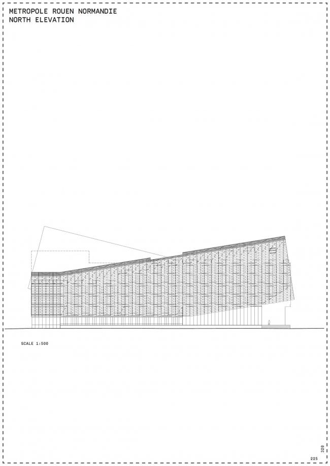 Штаб-квартира метрополии Руан-Нормандия © Jacques Ferrier Architecture