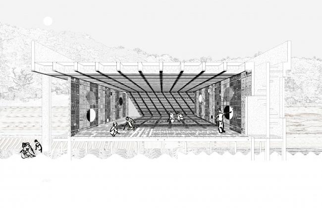 Даниэль Холл (Cooper Union, Нью-Йорк, США).  Проект «Циклы инструментального дела»