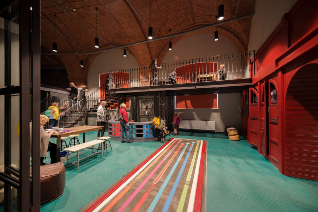 The Central Museum of the Oktyabrskaya Railway. Children′s zone © Studio 44