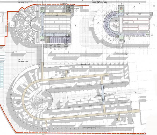 Центральный музей Октябрьской железной дороги. План © Студия 44