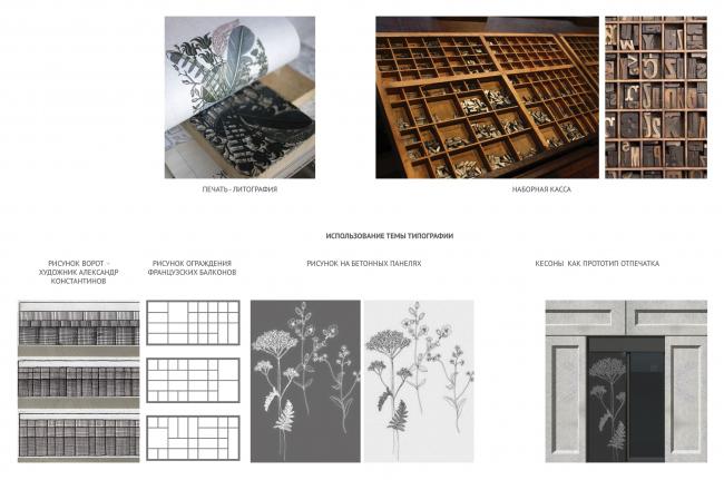 Конкурсный проект реновации Первой образцовой типографии. Концепция © ДНК аг