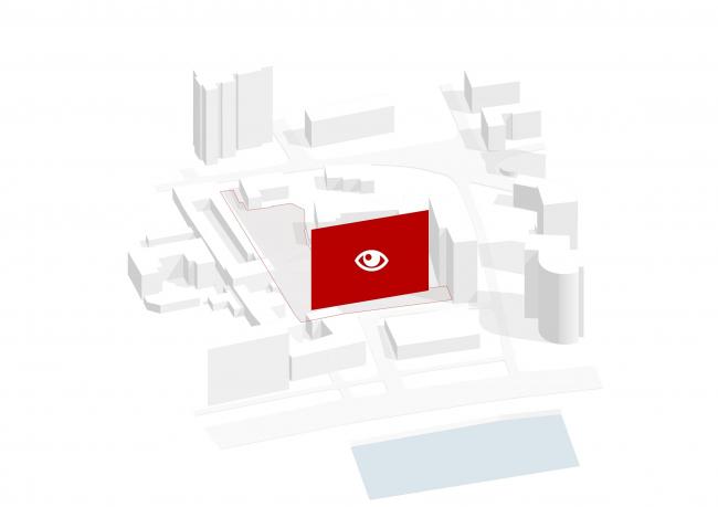 Жилой комплекс Z-House. Концепция © Архитектурная мастерская ATRIUM
