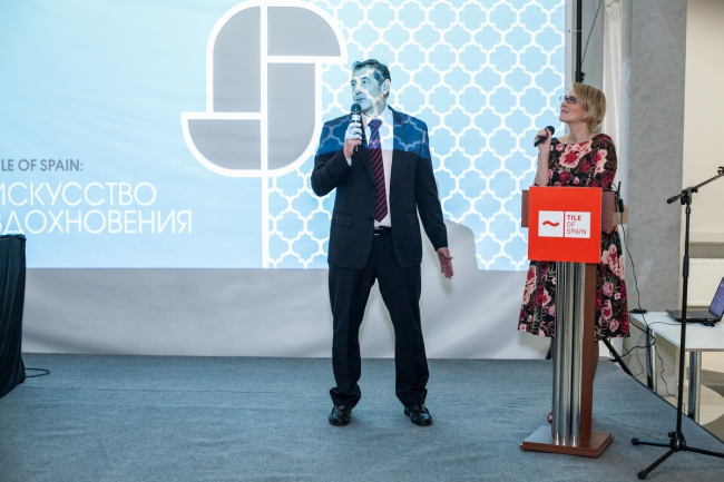 Воркшоп «Tile of Spain: искусство вдохновения» в Москве. Фотография предоставлена  агентством «СОДА-медиа»