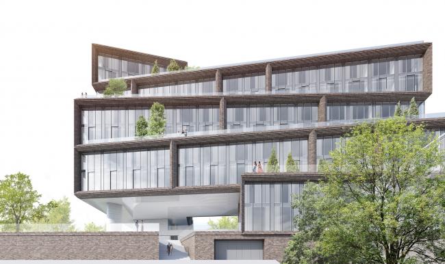 """""""Z-House"""" residential complex © ATRIUM"""