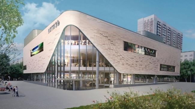 Реконструкция кинотеатра «Витязь» © АО «Гражданское проектирование». Предоставлено пресс-службой «Москомархитектуры»