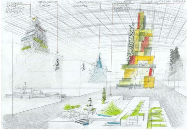 «Реконтекст. Архитектура, устремленная в будущее». Кураторская концепция Зодчества 2018 © Поле-дизайн