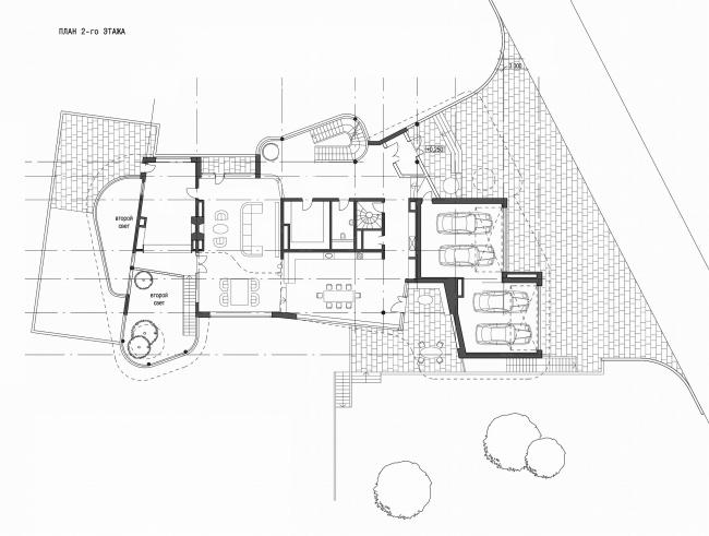 Индивидуальный жилой дом, Ватутинки. 2 этаж