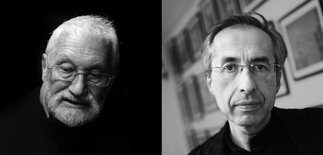Слева Александр Раппапорт; справа Сергей Чобан (фотография © Олег Сердечников)