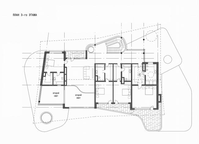 Индивидуальный жилой дом, Ватутинки. 3 этаж