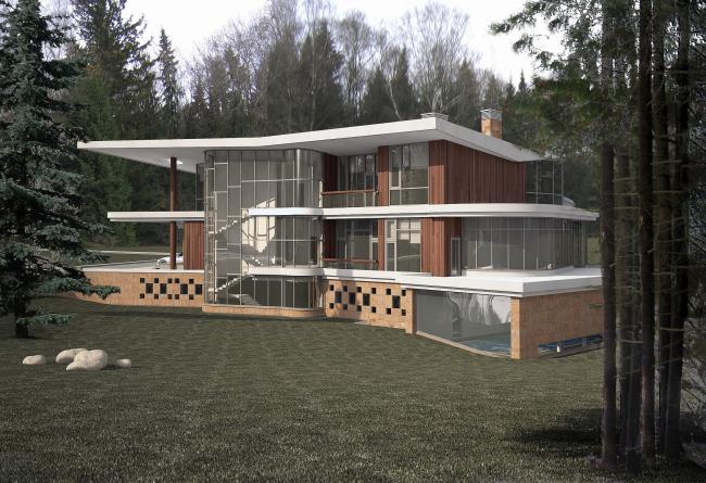 Индивидуальный жилой дом, Ватутинки