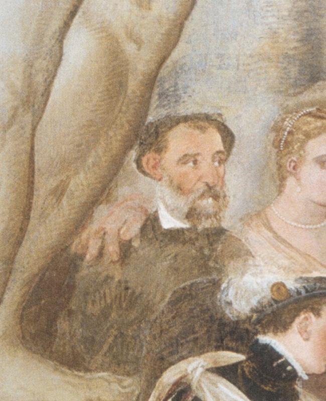 Портрет Палладио с фрески на вилле Кальдоньо. © Иллюстрация предоставлена Глебом Смирновым