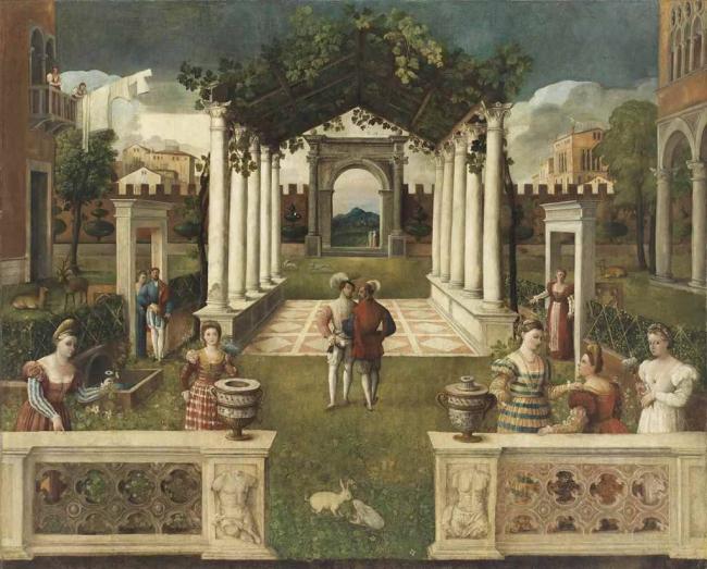 Школа Веронезе, ок. 1540.