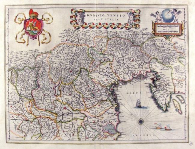Карта вилл в провинции Венето.© Иллюстрация предоставлена Глебом Смирновым